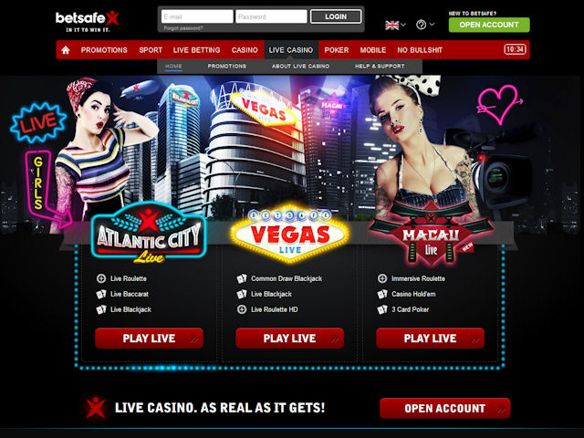 Betsafe screenshot 5